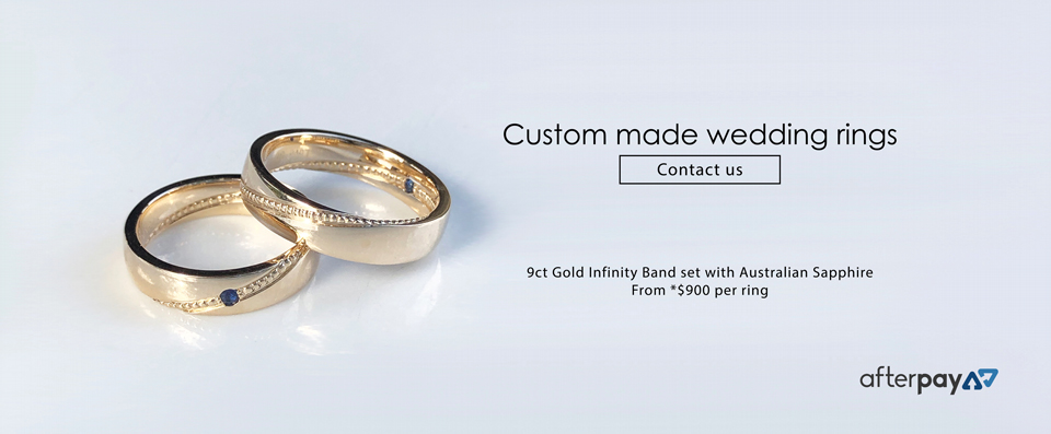 Custom Made 9ct Gold Wedding Ring